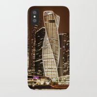 moscow iPhone & iPod Cases featuring Moscow city by Vlad&Lyubov