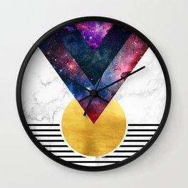 012 - Virgo descendant Wall Clock