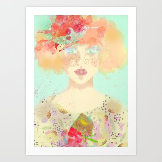 Faded and Washed Art Print