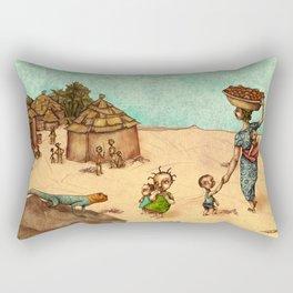 Africans Rectangular Pillow