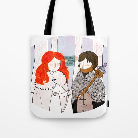 You Know Nothing Tote Bag