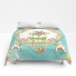 French Baroque Patisserie Tea Comforters