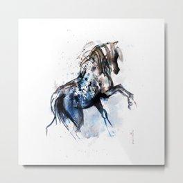 Horse (Bachelor Colorful) Metal Print