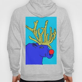 Rudolph The Red Nose Raindeer Hoody