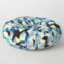 triangle puzzle Floor Pillow