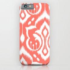 Ikat Damask Coral Slim Case iPhone 6s