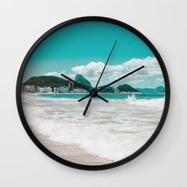 Sugar Loaf from Copacabana Wall Clock