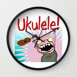 Ukulele! Wall Clock