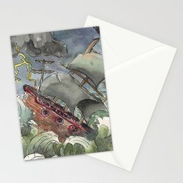 Dark and Stormy Night Stationery Cards