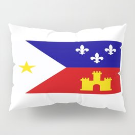 Acadiana Flag Pillow Sham