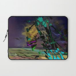 Phased Shifted Spacetime Laptop Sleeve
