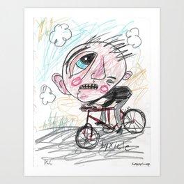 Byxicle Art Print