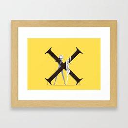 Xenosa & Exocet Framed Art Print