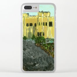 Sand Castle Winery Clear iPhone Case