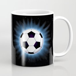 Spacey Soccer Ball Coffee Mug