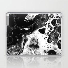 Monochrome Lava Flow Laptop & iPad Skin