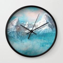MOUNTAIN SCAPES   Watzmann Wall Clock
