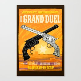 The Grand Duel Canvas Print