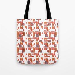 Watercolor Geometric Pattern Tote Bag