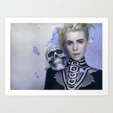 Death Skull Art Print