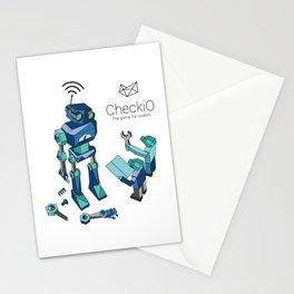 CheckiO robot Stationery Cards