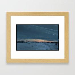 Swedish Winter Framed Art Print