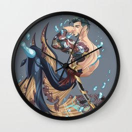 Merman Wall Clock