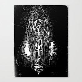Black. Fly. Maria. Canvas Print