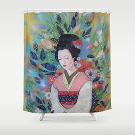 always a maiko Shower Curtain