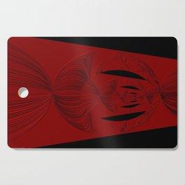 Red Black Cutting Board