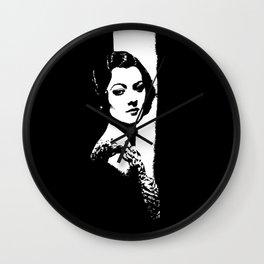 Myrna Loy Is Gorgeous Wall Clock