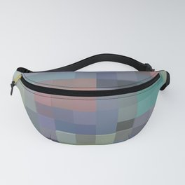 Abstract pixel pattern Fanny Pack