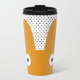 Orange Monster Travel Mug