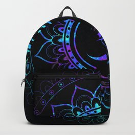 Om Mandala: Colorful Galaxy Backpack
