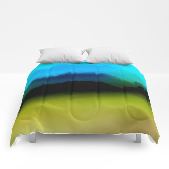 Misty Mountain View Comforters