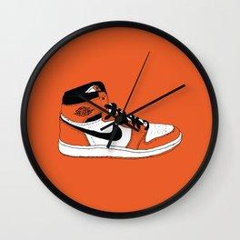 Jordan 1 Shattered Backboard 2.0 Wall Clock
