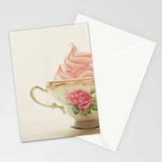Pink Meringues Stationery Cards