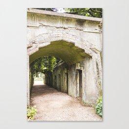 Highgate Cemetery, London - West Cemetery Canvas Print