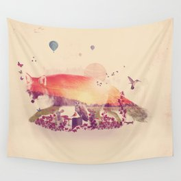 Woodlands Fox Wall Tapestry