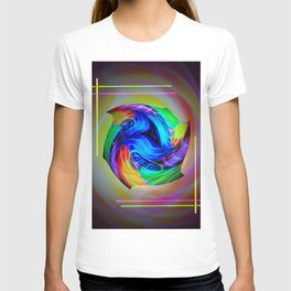 Abstract in perfection - Cube 5 T-shirt