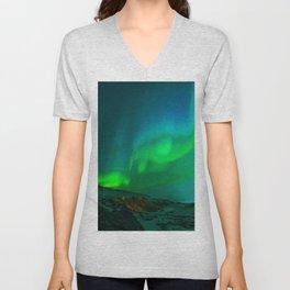 Northern Lights Unisex V-Neck