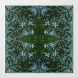 MoonWillow Tile Canvas Print