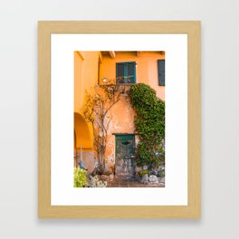 That's Vine by Me | Como, Italy Framed Art Print