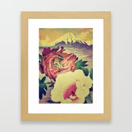 Flowering at Hamata Framed Art Print