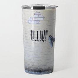 Banksy, Robot Travel Mug