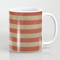 flag Mugs featuring Flag by ART SHOP