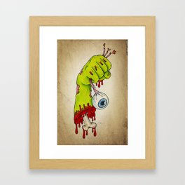 Hate Zombies - Tattoo artwork Framed Art Print