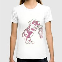 piglet T-shirts featuring 12. Lovely Piglet with Heart Pattern by Hennaart yume by kat