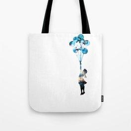 Banksy Balloon Girl Tote Bag