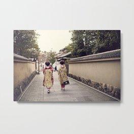 Maiko Metal Print